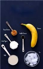 Cách làm sinh tố chuối bơ lạc thơm ngon, ăn là nghiền