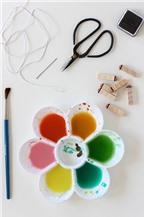 Cách làm sổ tay handmade cá tính với màu nước