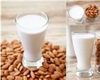 Cách làm sữa đậu nành hạnh nhân