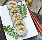 Cách làm sushi chay thơm ngon và đẹp mắt tại nhà
