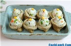 Cách làm sushi đậu hũ chiên đẹp mắt, thật ngon