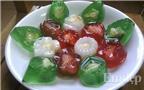 Cách làm thạch và tạo màu thạch bằng vị hoa quả tươi