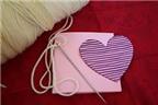 """Cách làm thiệp Valentine handmade """"ấm áp"""" dễ thương"""