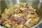 Cách làm thịt ba chỉ nướng riềng mẻ ăn hoài không chán