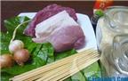 Cách làm thịt bò nướng lá lốt thơm ngon, hấp dẫn