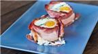 Cách làm thịt xông khói cuộn trứng nấm ngon lạ cho bữa tối