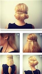 Cách làm tóc cuộn quý phái