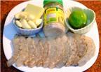 Cách làm tôm sốt bơ chanh cực ngon cho ngày mát