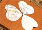 Cách làm tranh cỏ ba lá mang may mắn cho sĩ tử mùa thi