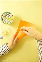 Cách làm túi đựng kẹo hình củ cà rốt ngộ nghĩnh