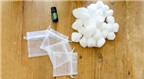 Cách làm túi thơm đơn giản khử mùi ẩm mốc