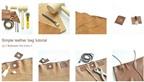Cách làm túi xách da đơn giản