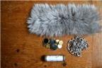 Cách làm vòng tay handmade từ vải lông cực sành điệu