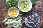 Cách nấu canh chua cá cơm với khế ngon không thể chê