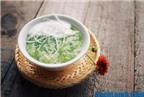 Cách nấu chè cốm đậu xanh sữa dừa ngon mê ly