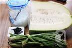 Cách nấu nước sâm bí đao giải nhiệt, đẹp da, trị mụn