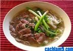 Cách nấu phở bò ngon như phở gia truyền Nam Định
