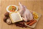 Cách nấu xôi ngũ vị nhồi gà nướng muối ăn Tết
