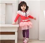 Cách phối chân váy cho bé yêu thêm xinh