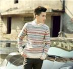 Cách phối đồ đẹp với áo len để chàng đi chơi Tết