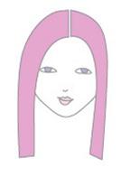 Cách rẽ ngôi tóc phù hợp với khuôn mặt