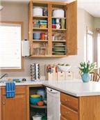 Cách sắp xếp nhà bếp gọn gàng, dễ sử dụng