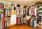 Cách sắp xếp tủ quần áo ngăn nắp, gọn gàng đến khó tin
