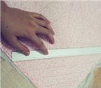 Cách tận dụng vải vụn để làm gối dựa trang trí