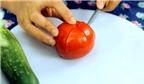 Cách tỉa hoa cà chua cực xinh yêu trang trí mâm cỗ Tết