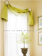 Cách treo rèm phong cách cho nhà bạn