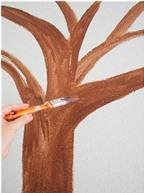 Cách vẽ hoa đào trang trí phòng ngọt ngào cảm xúc