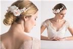 Các kiểu hoa cài tóc cô dâu mang đến vẻ đẹp thuần khiết