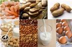 Các loại thực phẩm dễ gây dị ứng