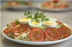 Các món ngon từ trứng ngỗng cho bà bầu