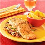 Cá hồi nướng lò nhanh và ngon