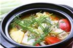 Cá nấu cà chua – món ăn tốt cho thai phụ