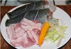 Cá rô kho thịt ba rọi tuyệt ngon ngày lạnh