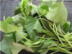 Công dụng tuyệt vời của rau khoai lang với sức khỏe