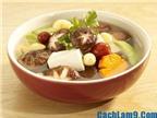 Đổi khẩu vị với canh nấm hạt sen ngon, dinh dưỡng