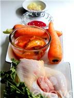 Gà nấu cá mòi cho cả nhà ngon cơm