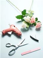 Học cách làm kẹp tóc hoa lãng mạn cho cô nàng nữ tính