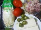 Học cách nấu canh nấm kim châm chua cay ngon nức mũi