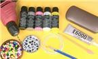 Học ngay cách làm ví cầm tay handmade từ hộp kính tiện lợi