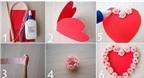 Hướng dẫn 4 cách làm thiệp Valentine handmade độc đáo