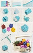 Hướng dẫn bạn 3 cách làm hoa vải trang trí cực đẹp