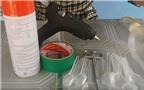 Hướng dẫn cách làm lồng đèn biến hóa từ thìa nhựa