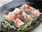 Hướng dẫn cách làm món bánh cuốn nhân cá hồi