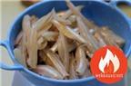 Hướng Dẫn Cách Làm Món Cá Bống Kho Nước Dừa Ngon