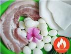 Hướng Dẫn Cách Làm Món Thịt Kho Dừa Trứng Cút Hấp Dẫn