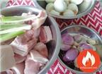 Hướng dẫn Cách làm món thịt kho trứng